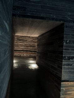 """Thermal Baths in Vals by Peter Zumthor (video)DesignRulz23 January 2013""""I work a little bit like a sculptor. When I start, my first idea for a building is with the material. I believe architectu... Architecture Check more at http://rusticnordic.com/thermal-baths-in-vals-by-peter-zumthor-video/"""