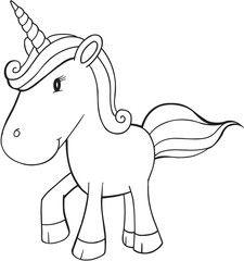 Cute Doodle Unicorn Vector Illustration Art Cute Doodles, Rainbows, Unicorns, Mermaids, Royalty Free Images, Sparkles, Illustration Art, Clip Art, Stock Photos