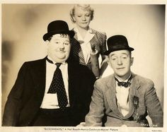 The Nutty Nut News Network, Laurel and Hardy