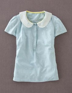 I've spotted this @BodenClothing Elise Top Washed Blue