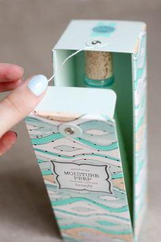 บรรจุภัณฑ์กล่องกระดาษสวยๆจาก Moisture Prep จาก Bunjupun.com