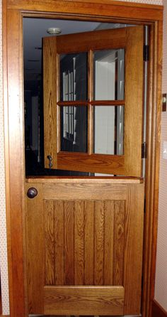 Would Like A Dutch Door On The Stair Way, Let The Heat Up And Keep