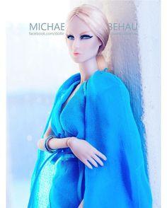 WEBSTA @ michaela_unbehau - @lovetones Doll Roxy  #toy #toys #toyphotography #toystagram #doll #pink #evening #blonde #makeup #gala #style #vogue #stylish #fashion #cold #fakefur #portraitphotography #ruffles #blonde #instadaily #instagood #light #bright #blue #portrait