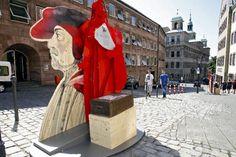 City of Nuremberg >> Conceptual design, Design & Build of the Open-air exhibition Dürer's Neighbourhood