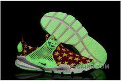Cheap Nike Sock Dart lightning Print Green Glow In The Dark Five Starred Red Flag White Nike Sock Dart Wholesale Nike Sock Dart, White Nike Socks, Jordan Shoes, Body Picture, White P, Retro Shoes, Nike Air Jordan Retro, Cheap Shoes, White Nikes