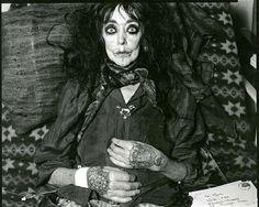 bluesforspacegirl:    vali myers on her deathbed, photo taken by tony notarberardino, february 2003.