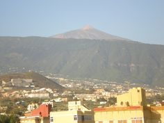 Vista panorámica Teide