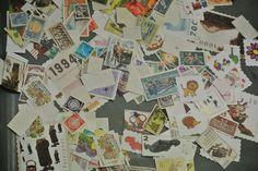 Postzegels onderzoeken, sorteren, verkennen, ...