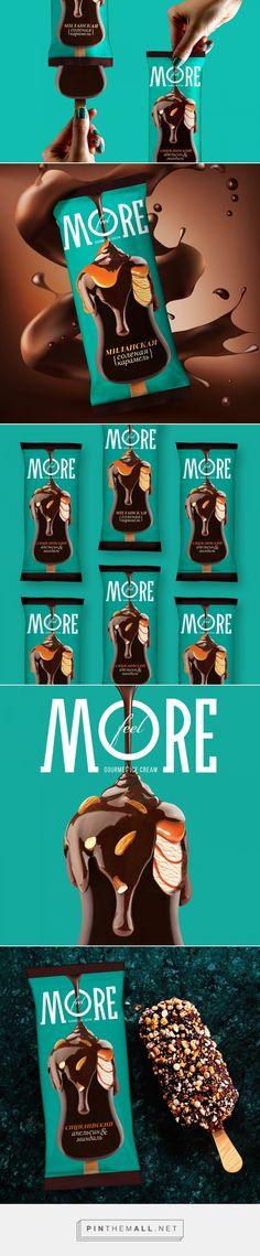 Feel More ice cream packaging design by Getbrand - branding agency - https://www.packagingoftheworld.com/2018/04/feel-more-is-created-to-tempt.html