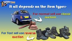 Get start your #auction event with the best suitable type.
