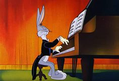 6 pieces of bugs bunny classical music you must listen to. There are many reasons for the successful use of classical pieces, none more impressive perhaps than in the cartoons featuring the inimitable Bugs Bunny. Old Cartoons, Animated Cartoons, Looney Tunes, Playlists, Bugs Bunny Pictures, Music Christmas Ornaments, Sheet Music Crafts, Yosemite Sam, Bunny Drawing