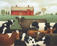 Lang - March 2015 Wallpaper | Cows Cows Cows