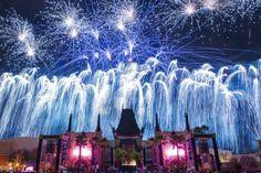 VIDEO STAR WARS Galactic Spectacular Fireworks at Disney's Hollywood Studios Debuts by John Saccheri