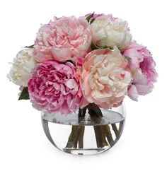 All you need is peonies for table bouquets.  See if that woman would grow a bunch of peonies for you.