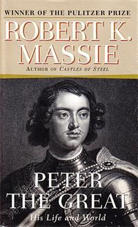 Peter the Great, Robert K Massie.  It took me a while to read it--I don't know why--because it is a captivating biography.  I enjoyed reading about King Charles XII of Sweden as much as PTG.