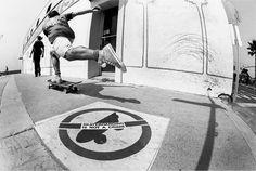 Steve Rocco, Hermosa Beach, CA. 1987. Photo: Brittain