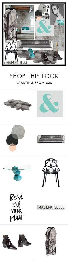 """Grunge Loft"" by incantare ❤ liked on Polyvore featuring interior, interiors, interior design, home, home decor, interior decorating, Maison Margiela and MM6 Maison Margiela"