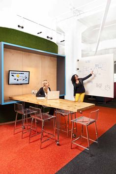 collaboration space amazing netflix office space design