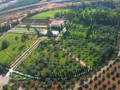 The Gardens in Acre (Akko), Israel