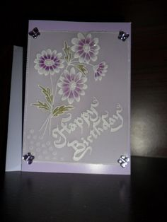 Handmade Card suitable for by Craftsbylindyloo on Etsy