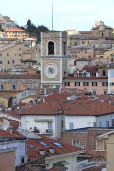 Ancona, Marche, Italy - clock tower- Photo by Celo Risi - #destinazionemarche #marche #marchesummer15