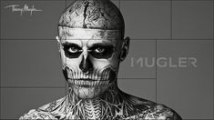 #MUGLER  Fall/Winter 2011 campaign with #Zombie Boy