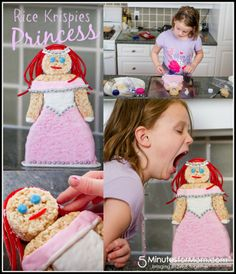 Princess Rice Krispies Treats #treatsfortoys