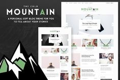 CM Personal Lifestyle Blog Theme by NaughtyPanda Themes on @creativemarket