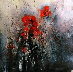 Floral 10, painting by Marie Armi
