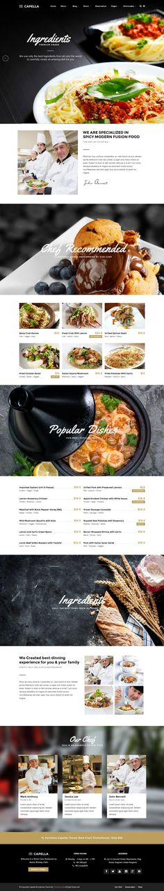 25+ Best Responsive WordPress Food Themes and Templates in 2014 | Responsive Miracle
