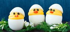Deviled Chicks #easter #recipes