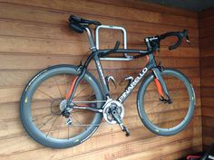 My Dogma hanging for dry, after a wet trainingsession