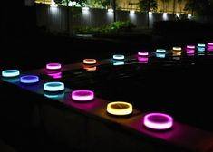 Add shining colors to your garden with the help of these brightly lit up Playbulb Garden Bluetooth Solar Lights.