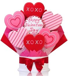 Enter to Win a Valentine Cookie Gift from Cookie Gift Baskets!