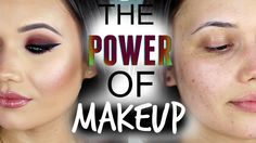 THE POWER OF MAKEUP by @thatgirlshaexo