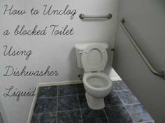 Secret Plumber Tip: How To Unclog Toilet With Dishwasher Soap