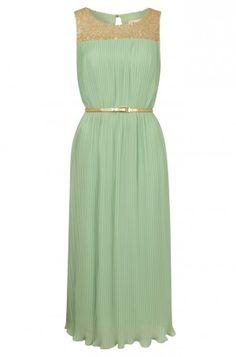 Engagement party dress -  Louche Bechet Sequin Midi Length Dress