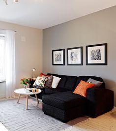 quadros de fotos atras do sofa - Pesquisa Google