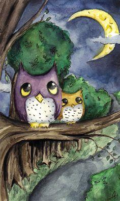 'Night Owls' by okamint