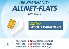 Telekom Allnet Flat mit bis zu 4GB Internet Flat ab 9,99€ http://www.simdealz.de/telekom/sparhandy-telekom-allnet-flat/