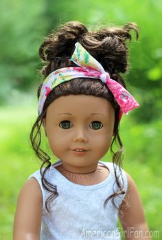 American Girl Doll Head Scarf