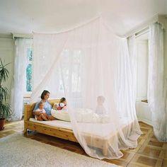 Betten Machen Dekorativ wohnungseinrichtung boho chic schlafzimmer schaffell baldachin