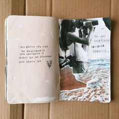 art journal spread / scrapbooking ideas inspiration tumblr