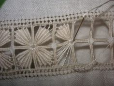 Reticello Needleweaving