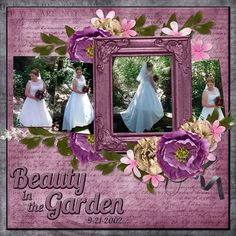 Beauty in the Garden - digital layout made by CT artist poki featuring ADB Designs HEART FELT digital scrapbooking kit http://www.godigitalscrapbooking.com/shop/index.php?main_page=index&cPath=234_478_479&sort=20a&filter_id=171&alpha_filter_id=0
