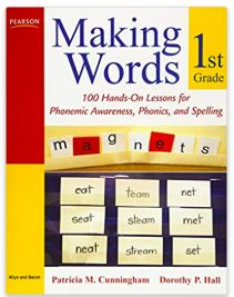 INSTRUCTION The Making Words strategy for teaching spelling patterns is a creative and hands on approach for students. Each student will receive a strip of letters that they can cut apart. The teacher will then dictate a word and the student must use their letters to create the given word. As the students spell the word, they should be encouraged to read out the spelling, say the word they have spelled and come up with rhyming words. The words should begin with two letters and slowly…