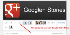 Sharing on Google+ With Do Share: By @Social Solutions - #Google+ #SocialMedia #Business.