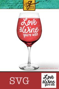 65d6197d45d8 8 Best Wineglass Decals images