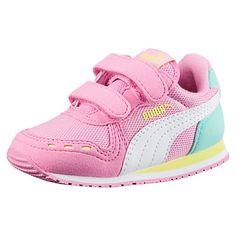 Puma Cabana Racer sl V INF zapatos para niños 351980 zapatillas puma White Pearl