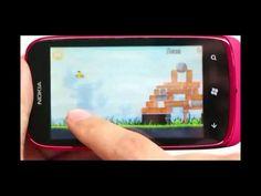 Nokia Lumia 610 puede jugar a Angry Birds http://www.aplicacionesnokia.es/nokia-lumia-610-puede-jugar-a-angry-birds/
